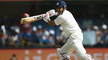 Gautam Gambhir steers the ball on to the off side