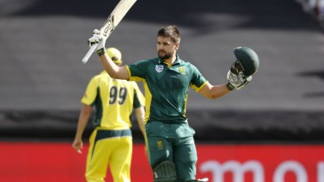 Rilee Rossouw's 122 put South Africa on top