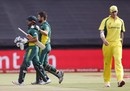 Rilee Rossouw and JP Duminy shared the highest fourth-wicket stand for South Africa against Australia, South Africa v Australia, 5th ODI, Cape Town, October 12, 2016