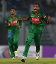 Shafiul Islam gave Bangladesh hope with two wickets, Bangladesh v England, 3rd ODI, Chittagong, October 12, 2016