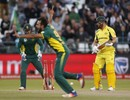 Imran Tahir got through Aaron Finch, South Africa v Australia, 5th ODI, Cape Town, October 12, 2016