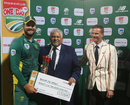 Rilee Rossouw was named Player of the Series, South Africa v Australia, 5th ODI, Cape Town, October 12, 2016