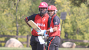 Srimantha Wijeratne and Nitish Kumar added 104 for the second wicket, USA v Canada, Auty Cup, Los Angeles, October 13, 2016