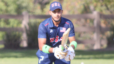 Fahad Babar top-scored for USA with 63