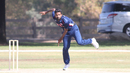 Prashanth Nair took 1 for 41 bowling left-arm spin, USA v Canada, Auty Cup, Los Angeles, October 14, 2016