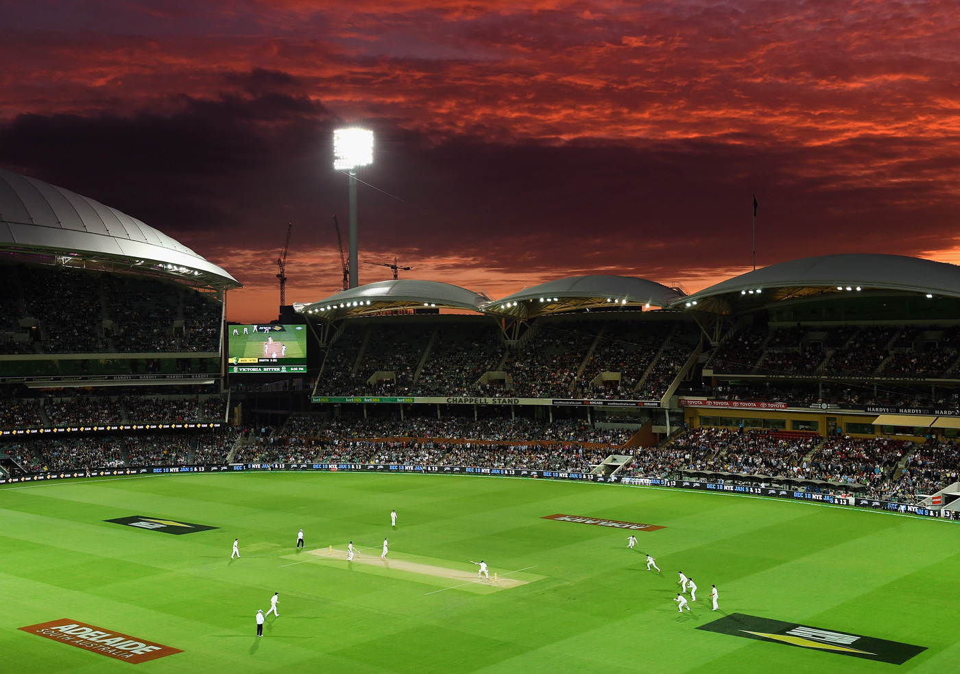 Sunset boulevard: a nocturnal future beckons for Test cricket