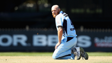 Doug Bollinger took three Victoria wickets