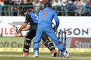 MS Dhoni is quick to whip the bails off, India v New Zealand, 1st ODI, Dharamsala, October 16, 2016