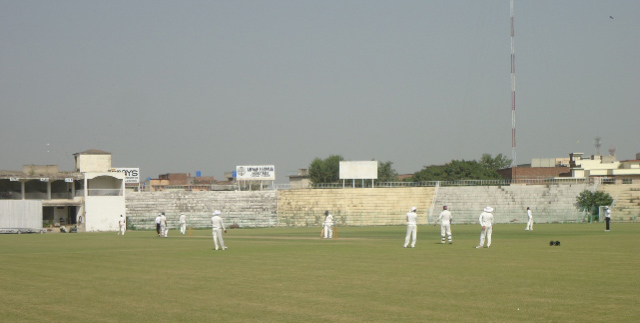 The Jinnah Stadium as it is now