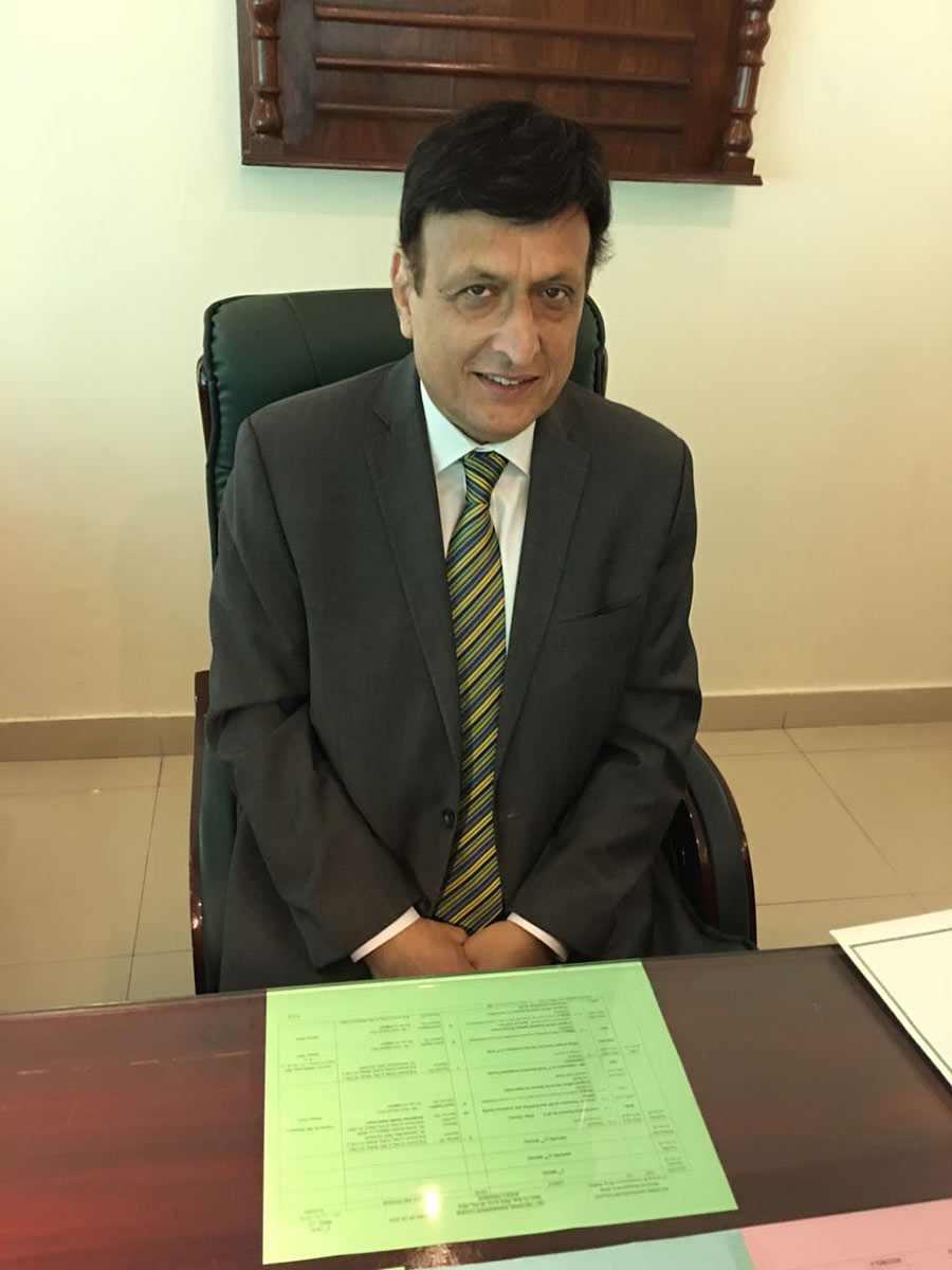 Ismail Qureshi in 2016. Qureshi was the deputy commissioner of Sialkot in October 1984
