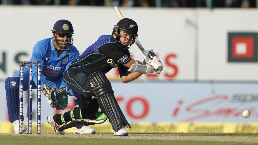 Tom Latham became the 10th batsman to carry his bat through an ODI innings