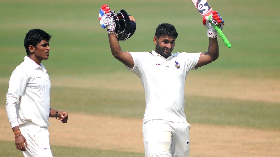Rishabh Pant became the third-youngest Indian to score a first-class triple century