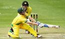 Sam Harper plays a sweep shot, Cricket Australia XI v Western Australia, Matador Cup 2016-17, Sydney, October 17, 2016