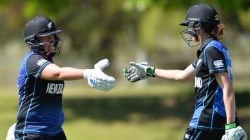 Rachel Priest and Amy Satterthwaite shared a 139-run partnership