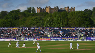 Test match action at Emirates Riverside between England and Sri Lanka