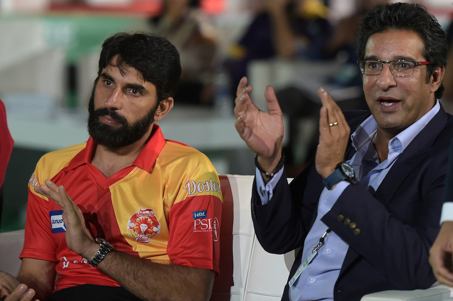 PCB considering names of Wasim Akram and Misbah-ul-Haq for cricket committee