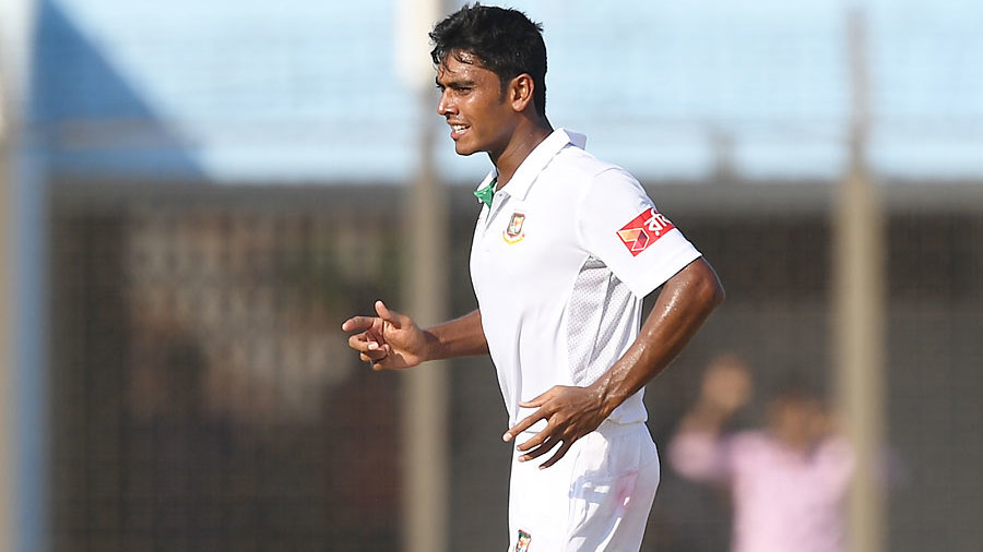 Mehedi Hasan bagged five wickets on debut
