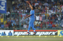 Jasprit Bumrah's three wickets came during the slog, India v New Zealand, 2nd ODI, Delhi, October 20, 2016