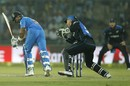 Virat Kohli was strangled down the leg side, India v New Zealand, 2nd ODI, Delhi, October 20, 2016