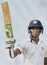 CM Gautam celebrates his fifty, Delhi v Karnataka, Ranji Trophy 2016-17, Group B, Kolkata, 2nd day, October 21, 2016