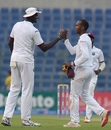 Part-time spinner Kraigg Brathwaite broke through off the last ball, Pakistan v West Indies, 2nd Test, Abu Dhabi, 1st day, October 21, 2016