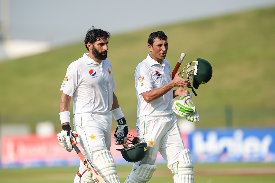 Younis Khan and Misbah-ul-Haq batting masterclass puts Pakistan in strong position