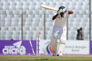 Should have played that: Kamrul Islam Rabbi loses his off stump, Bangladesh v England, 1st Test, Chittagong, 3rd day, October 22, 2016