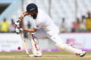 Moeen Ali gets well forward, Bangladesh v England, 1st Test, Chittagong, 3rd day, October 22, 2016