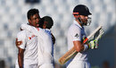 Kamrul Islam Rabbi claimed Jonny Bairstow as his first Test wicket, Bangladesh v England, 1st Test, Chittagong, 3rd day, October 22, 2016