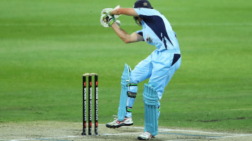 Daniel Hughes was struck on the helmet by a bouncer