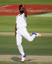 Rahat Ali had Leon Johnson lbw for 12, Pakistan v West Indies, 2nd Test, Abu Dhabi, 2nd day, October 22, 2016