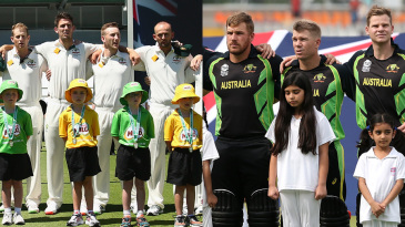 Composite: Australia's Test and T20 sides