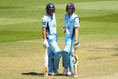 Moises Henriques and Kurtis Patterson steadied NSW after early wickets, New South Wales v Queensland, Matador Cup 2016-17, final, Sydney, October 23, 2016