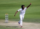 Rahat Ali dismissed Jermaine Blackwood in the seventh over of the day, Pakistan v West Indies, 2nd Test, Abu Dhabi, 3rd day, October 23, 2016