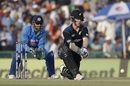 James Neesham led New Zealand's late recovery with a half-century, India v New Zealand, 3rd ODI, Mohali, October 23, 2016