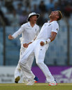 Stuart Broad produced a strong late spell, Bangladesh v England, 1st Test, Chittagong, 4th day, October 23, 2016