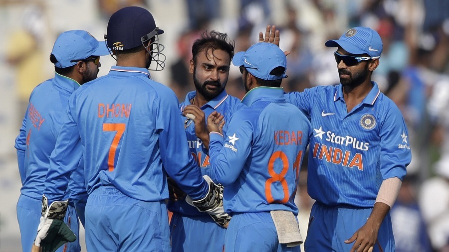 Amit Mishra took 2 for 46 in 10 overs