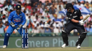 Ross Taylor shared a third-wicket stand of 73 with Tom Latham