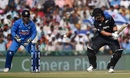 Ross Taylor shared a third-wicket stand of 73 with Tom Latham, India v New Zealand, 3rd ODI, Mohali, October 23, 2016