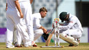 Joe Root consoles Sabbir Rahman after his heroics in defeat, Bangladesh v England, 1st Test, Chittagong, 5th day, October 24, 2016