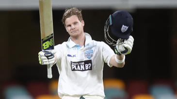 Steven Smith was one of two centurions for New South Wales