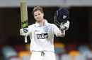 Steven Smith was one of two centurions for New South Wales, Queensland v New South Wales Sheffield Shield 2015-16, 1st day, Brisbane, October 25, 2016