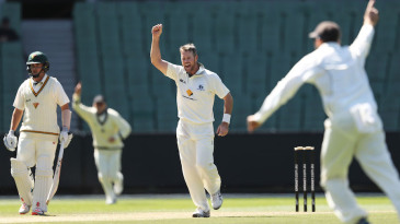 Daniel Christian troubled Tasmania's middle order