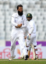 Moeen Ali claimed the big wicket of Tamim Iqbal for 104, Bangladesh v England, 2nd Test, Mirpur, 1st day, October 28, 2016