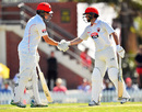 Tim Ludeman and Jake Winter shake hands, South Australia XI v South Africans, Adelaide, 2nd day, October 28, 2016