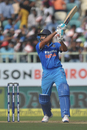 Rohit Sharma swings to take the aerial route, India v New Zealand, 5th ODI, Visakhapatnam, October 29, 2016