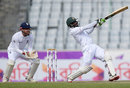 Shuvagata Hom played his shots to rally Bangladesh's tail, Bangladesh v England, 2nd Test, Mirpur, 3rd day, October 30, 2016
