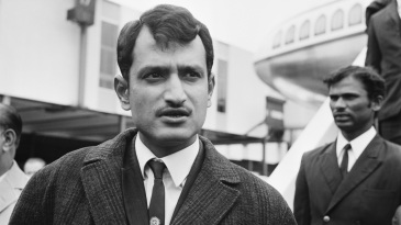 Ajit Wadekar and the Indian squad arrrive in London for the tour of England