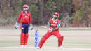 Ajay Lalcheta pulls to midwicket, Jersey v Oman, ICC World Cricket League Division Four, Los Angeles, October 29, 2016