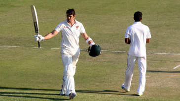 Graeme Cremer recorded a maiden Test century